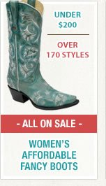 Womens Affordable Fancy Boots