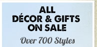 All Décor and Gifts on Sale