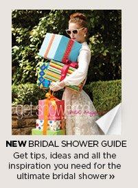 NEW Bridal Shower Guide