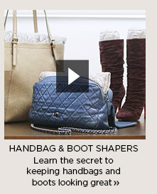 Handbag & Boot Shapers Video