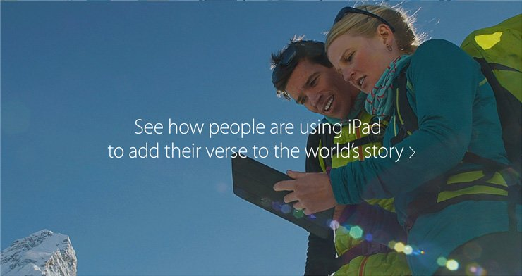 See how people are using iPad to add their verse to the world's story