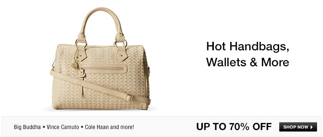 Hot Handbags, Wallets and More