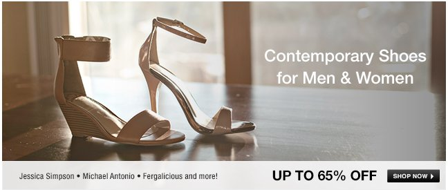 Contemporary Shoes for Men and Women