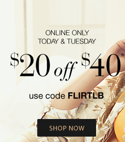 2 Days, Online Only: $20 Off $40