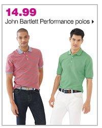 14.99 John Bartlett Performance polos.