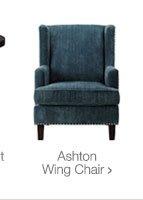 Ashton Wing Chair >