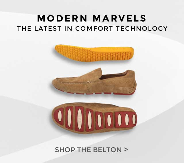 MODERN MARVELS. SHOP THE BELTON.