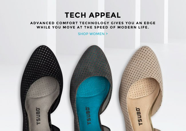 TECH APPEAL. SHOP WOMEN.