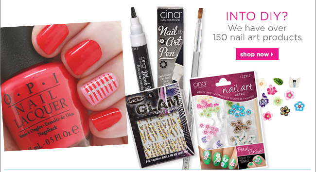 We have over 150 nail art prducts