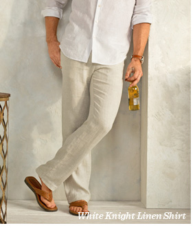 White Knight Linen Shirt