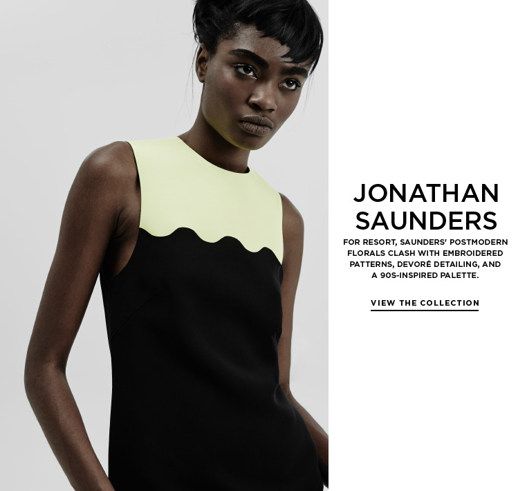 Power Clashing from Jonathan Saunders
