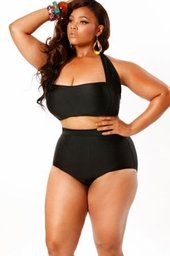 Sexy full figured black women