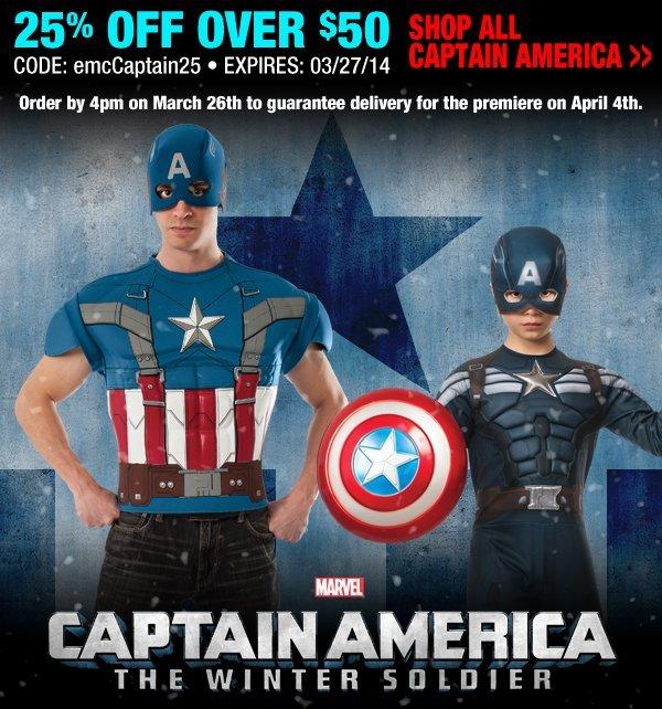 Shop Capt. America