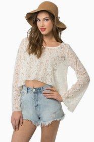 Virtuous Lace Top $25