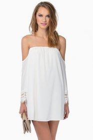 Ophelia Off Shoulder Dress $40