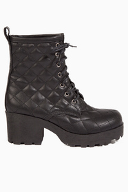 Quilted Steps Boots $64