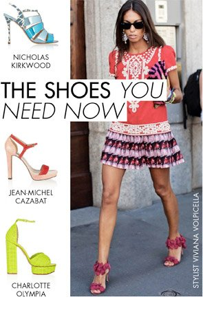 THE SHOES YOU NEED NOW