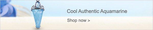 Cool Authentic Aquamarine