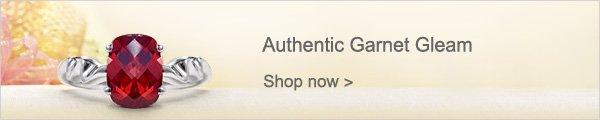 Authentic Garnet Gleam