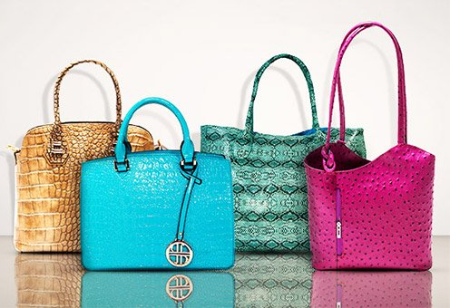 The Embossed Handbag