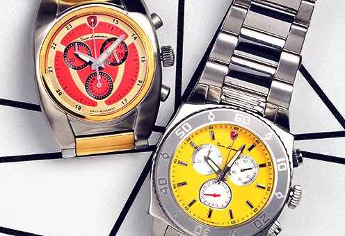 Chronograph Watches by Lancaster, Tonino Lamborghini & More