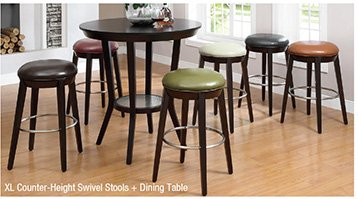 42 inches Round Counter-Height Dining Table