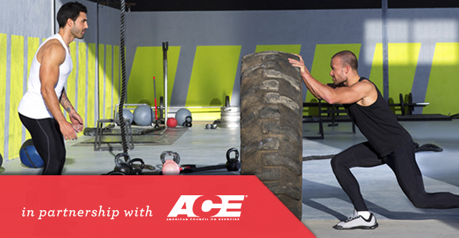 With more than 6 million people working out with personal trainers, a clear path to a variety of certifications through organizations like the American Council On Exercise (ACE), and a fitness industry