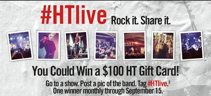 #HTLIVE - ROCK IT. SHARE IT.