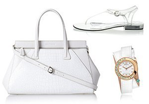 White Out: Shoes, Bags & More