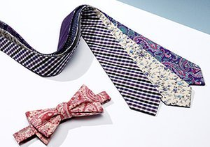 Cool Cotton: Ties, Bow Ties & More