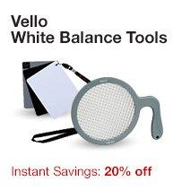Vello White Balance Tools