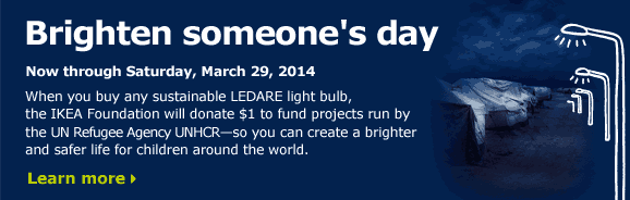 Brighten someone's day