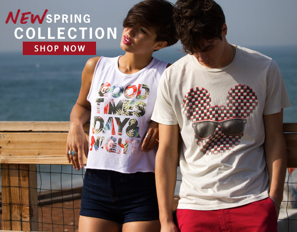 New Spring Collection. Shop Now at Junk Food Clothing.