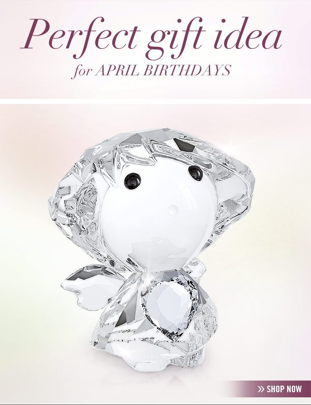 Perfect gift idea for April birthdays