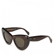 CÉLINE - Havana cat eye acetate sunglasses