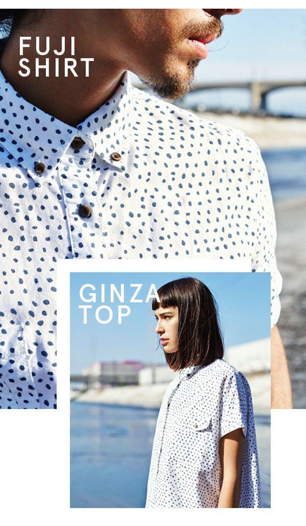 Fuji Shirt | Ginza Top