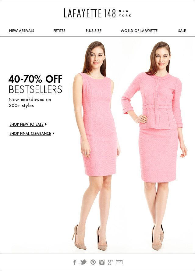 Save Big! 300+ New Markdowns!