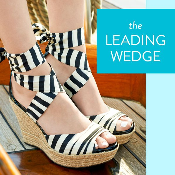 the LEADING WEDGE