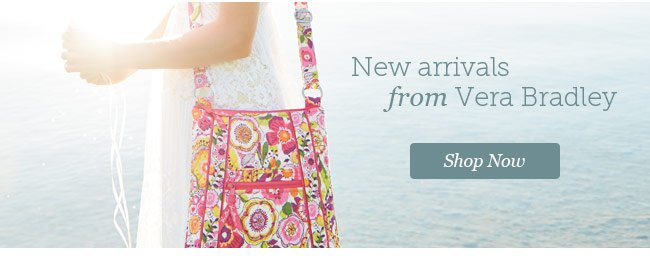 Shop New Arrivals from Vera Bradley