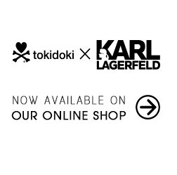 Check out the chic-est addition to our tokidoki x Karl Lagerfeld family: Mr. Black!