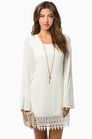 Whispering Willows Shift Dress $44