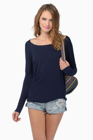 Back To Basics Long Sleeve Top $29
