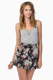 Natasha Floral Skirt  $29