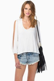 Vanna V-Neck Top $30