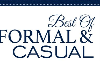 Best of FORMAL & CASUAL