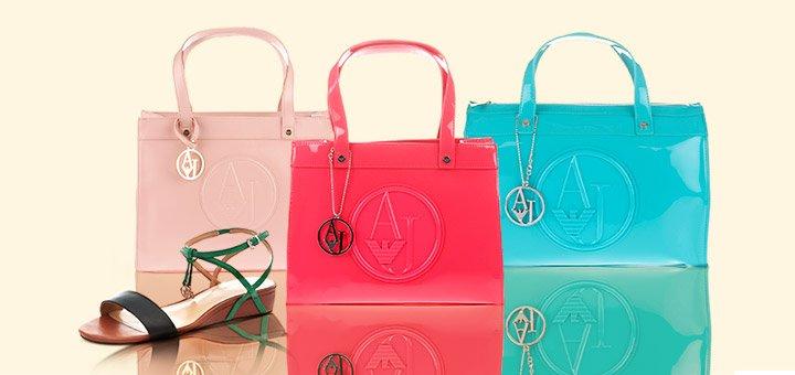 Armani Jeans Handbags & Shoes