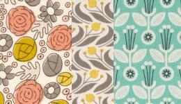 Cloud 9 Fabrics Grey Abbey Organic