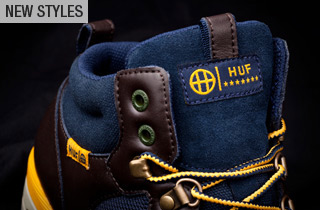 Sunday Night Select: New HUF Sneakers