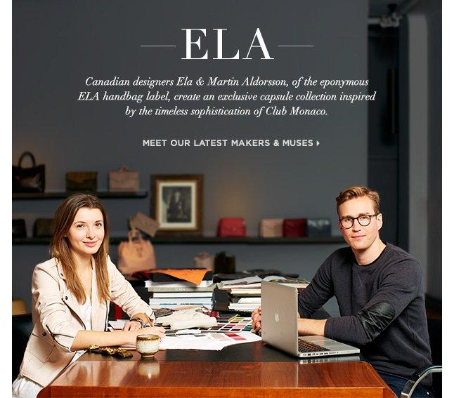 Club Monaco Exclusive: Must-Have Handbags From ELA