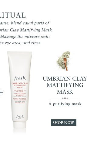 Umbrian Clay Mattifying Mask